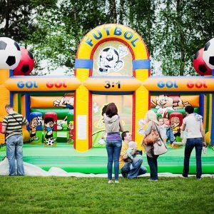 dart-pol, atrakcje plenerowe, plac zabaw piłkarski, futbol