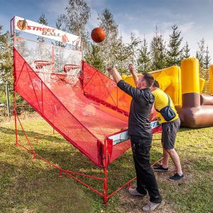 Turniej do gry w koszykówkę - organizacja imprez plenerowych