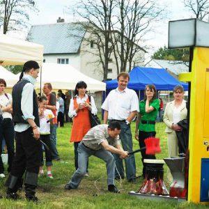 Siłomierz młot - organizacja imprez plenerowych