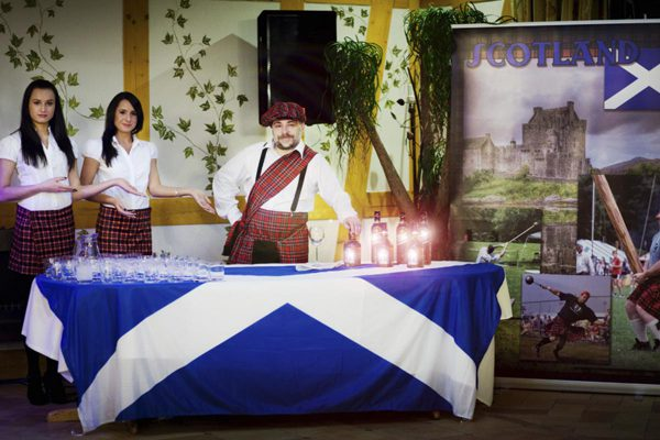 Degustacja whisky szkockiej