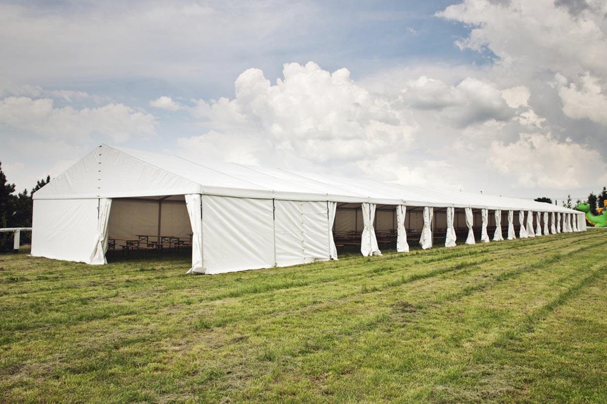 Haka namiotowa - organizacja imprez, infrastruktura techniczna