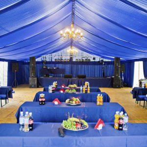 Aranżacja hal namiotowych - organizacja imprez, infrastruktura techniczna