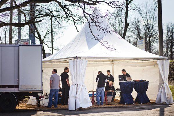 Namioty białe - organizacja imprez, infrastruktura