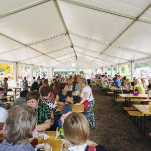 Hala namiotowa - organizacja imprez