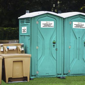 Zabezpieczeni sanitarne - organizacja imprez