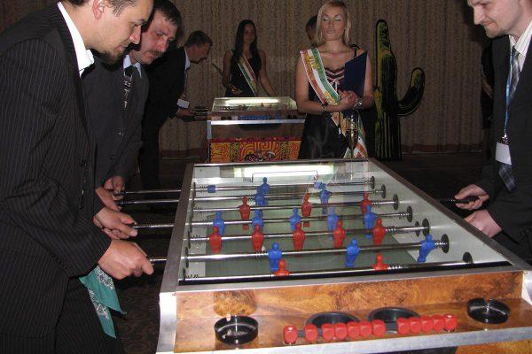 Mistrzostwa w piłkarzyki - organiacja imprez