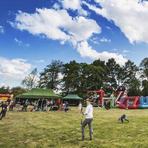 Park atrakcji Mega piłkarski - organizacja imprez