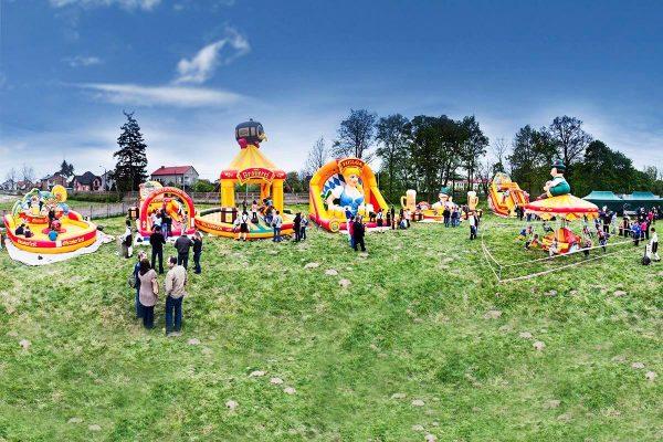 Organizacja imprez - Park atrakcji w tematyce Oktoberfest - organizacja imprez dla dzieci i dorosłych