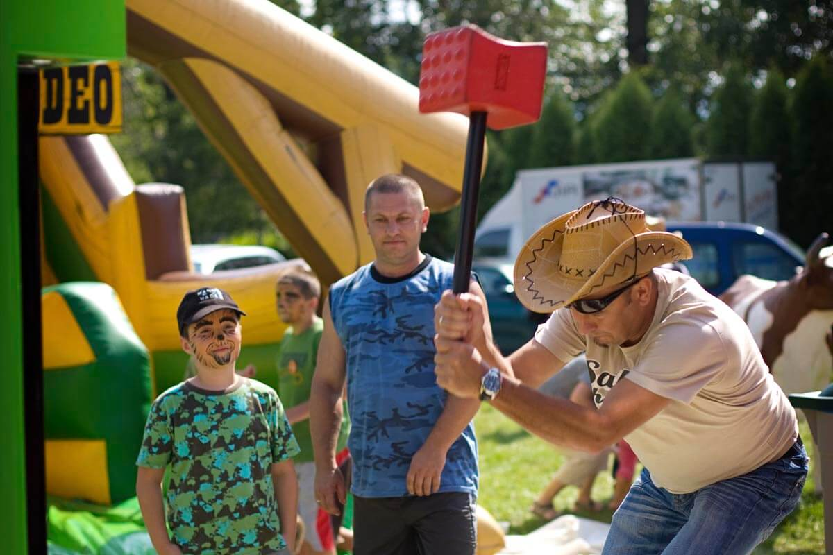 Siłomierz młot - Piknik Country Zagroda