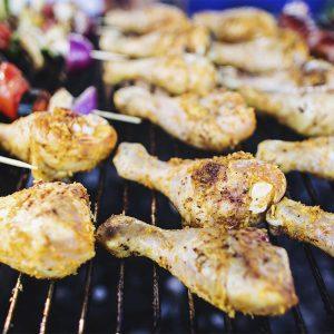 Grillowane podudzia z kurczaka - usługa cateringowa - organizacja imprez