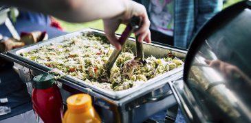 Sałatka szefa kuchni , usługa cateringowa - organizacja imprez